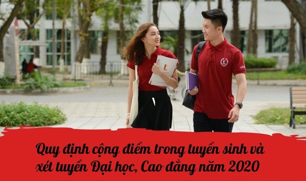 Điểm ưu tiên trong kỳ thi Tuyển sinh Đại học 2020