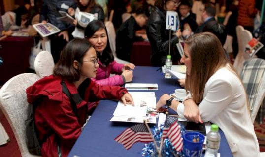 Việt Nam xếp thứ 6 trong các nước có HS du học tại Mỹ nhiều nhất