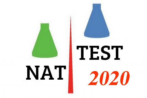 Lịch thi NAT-TEST 2020 mới nhất