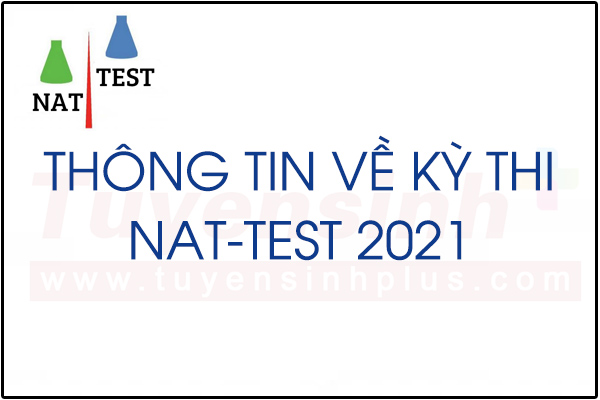 Lịch thi NAT-TEST 2021