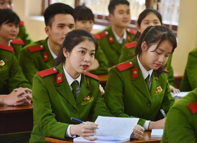 Phương thức tuyển sinh mới nhất vào các trường Công an nhân dân năm 2021