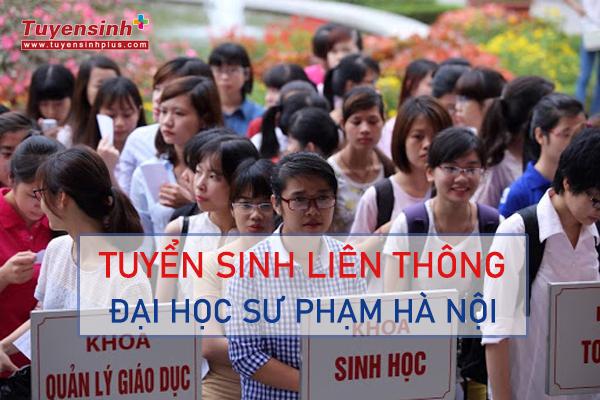 Liên thông đại học Sư phạm TRÁI NGÀNH tại Hà Nội 2021